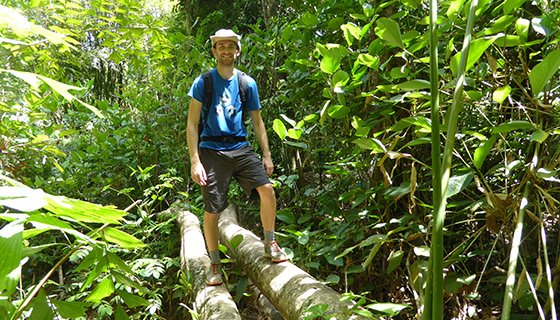 Chris in the Thai jungle!