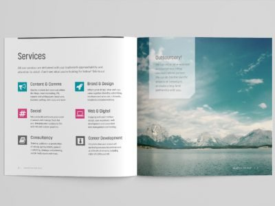 Font Awesome in our brochure