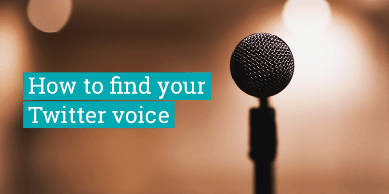 How to find your Twitter voice