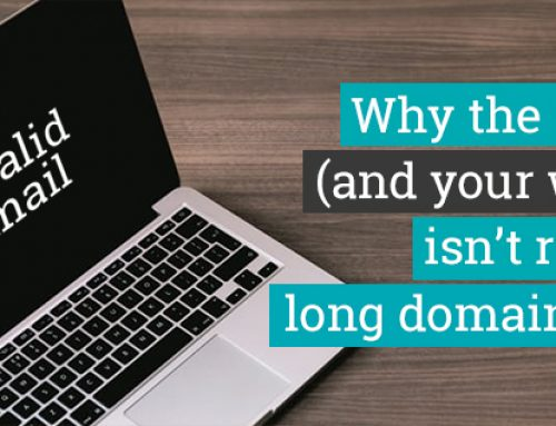 Why the internet (and your website) isn't ready for long domain names