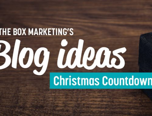 Blog ideas – 12 day Christmas countdown