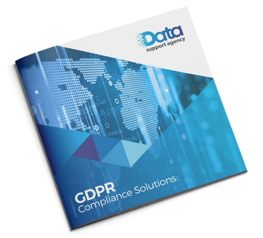 The Data Support Agency brochure front