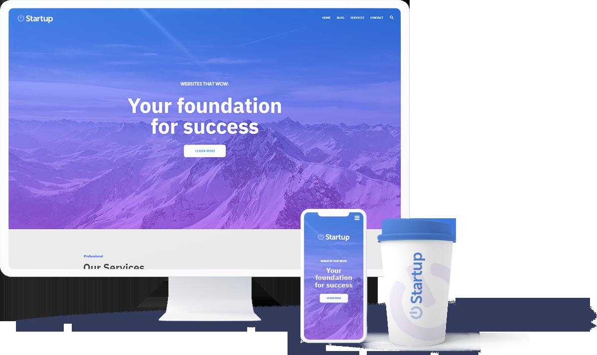 Brands and Websites for startups
